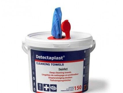 Detectaplast desinfecterende Cleaning towels 150vel