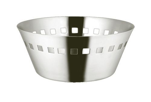 Broodmand, inox 18/10 satin - 200mm-H85mm