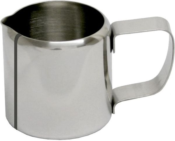 Melkpot recht model, inox 18/8 - 72mmxH74mm-0.30l