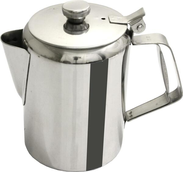 Koffiepot recht model, inox 18/8 - 123mmxH178mm-1.95l