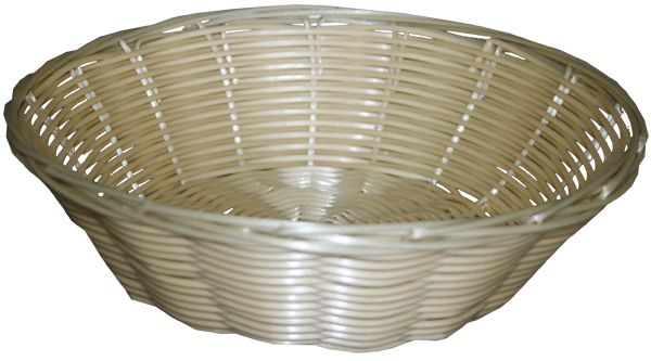 Broodmand in poly-rattan rond Ø 220mm H70mm