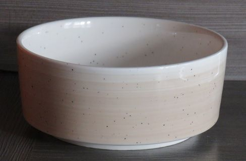 Spring bowl ivoor spikkel/beige Ø160mm