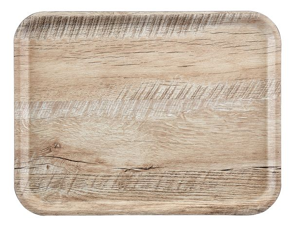 Madeira laminaat koffiedienblad RH 240x350mm light OAK