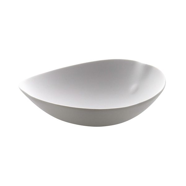 Cookplay Shell Line bowl mat wit 21,5x22x7,5cm